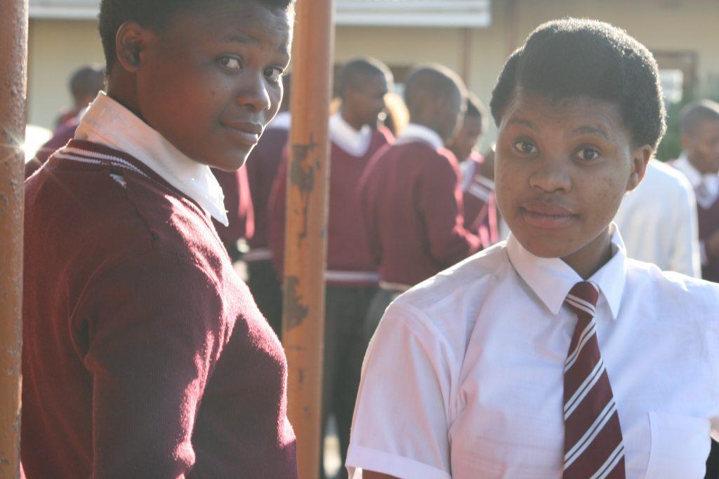 Portia at Ntafufu SSS